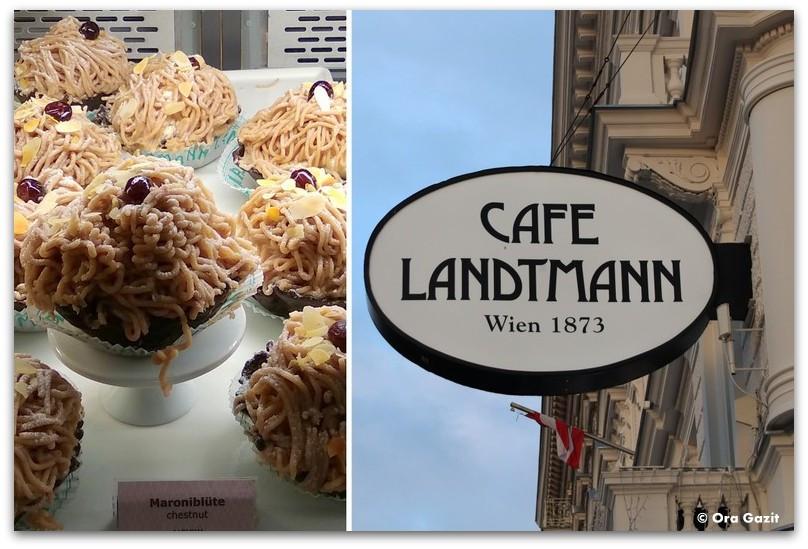 עוגות - קפה לנדמן - טיול בוינה - מה לעשות בוינה - וינה בשלושה ימים