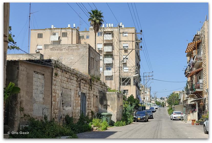 רחוב אני מאמין חיפה - שמות רחובות בחיפה - טיול בחיפה