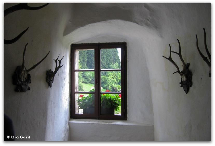 חלון במצודה, מצודת פרדיאמה, סלובניה
