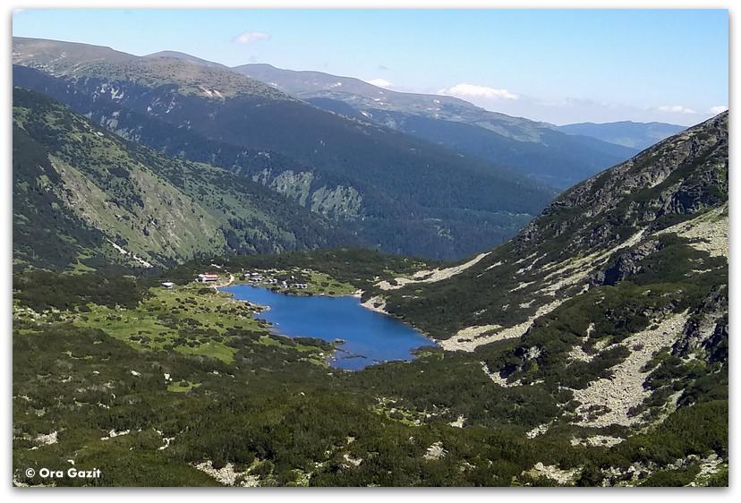 אגם קטן - טרק הרי רילה - טרקים בבולגריה - יומן מסע