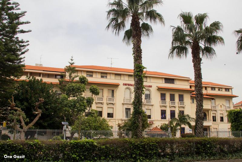 בית החולים האיטלקי - שביל חיפה - טרק - טיול בחיפה