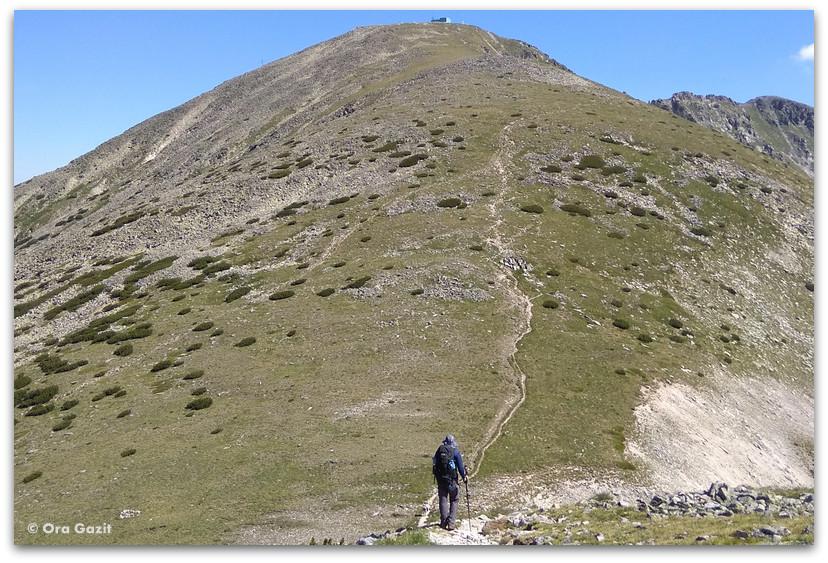 הר מוסלה - הרי רילה בולגריה - טרקים בבולגריה - יומן מסע
