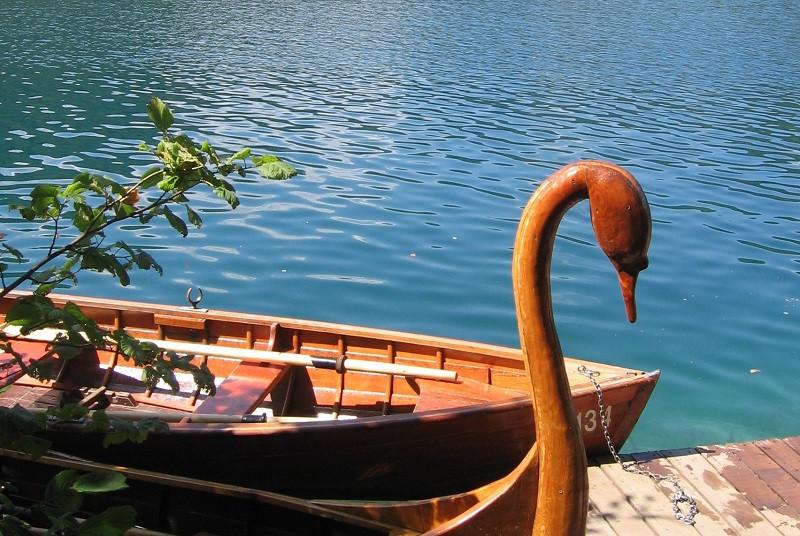 סירה, אגם בלד, סלובניה