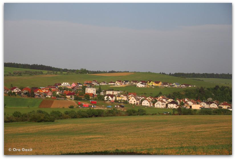 נוף כפרי - סלובקיה