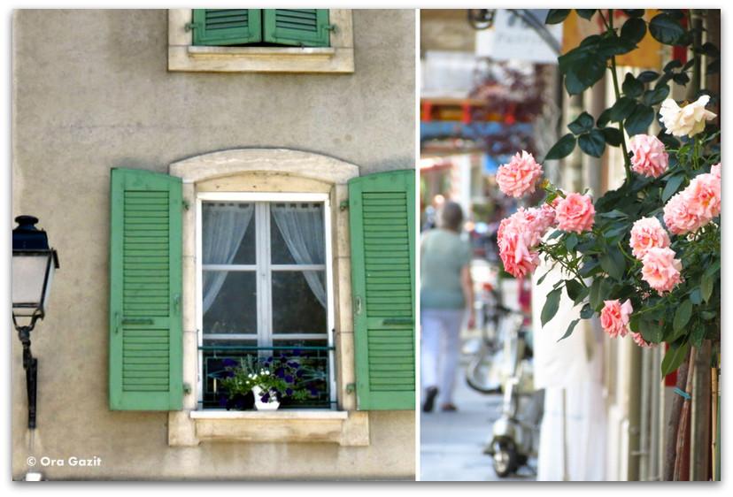 חלון ופרחים - ז'נבה - אטרקציות בחינם