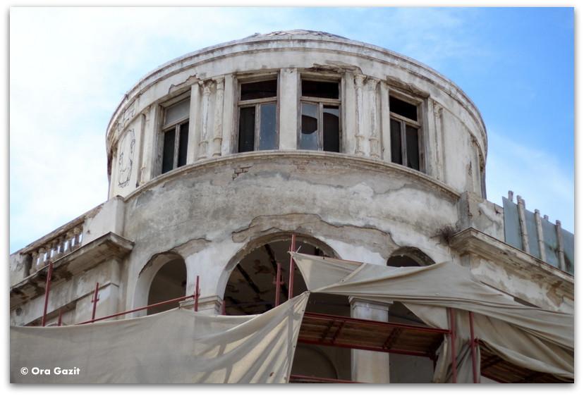 בנין נטוש - סיורים מודרכים בתל אביב - תל אביב