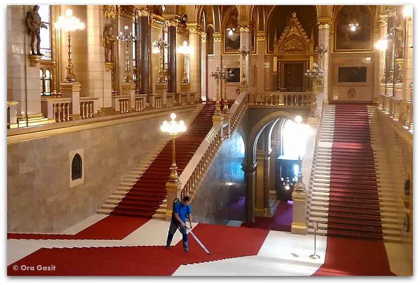 בניין הפרלמנט - אטרקציות בודפשט - הונגריה