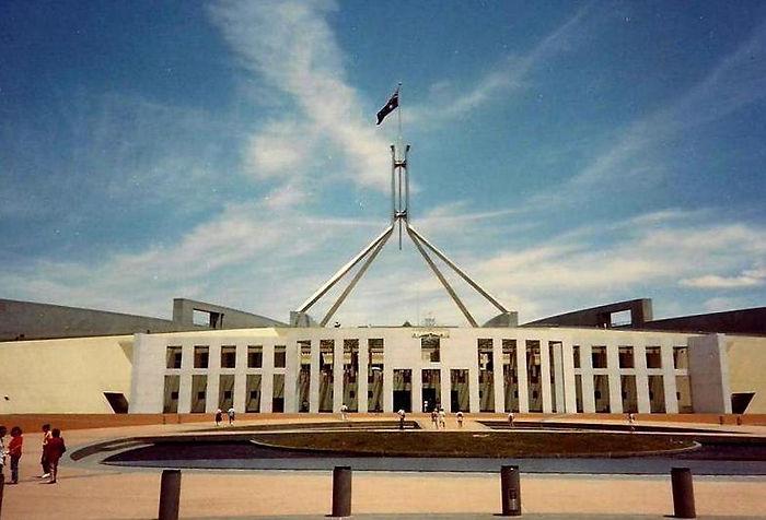 בניין הפרלמנט, אוסטרליה - יומן מסע - טיול אחרי צבא