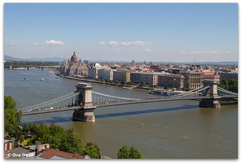 תצפית על בודפשט - טיול בבודפשט - הונגריה