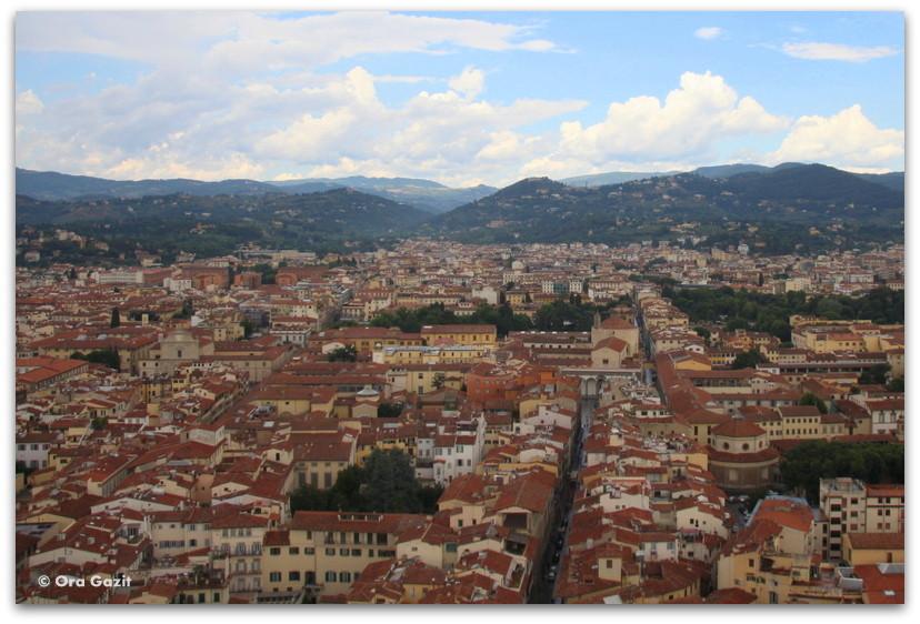 תצפית - פירנצה, איטליה