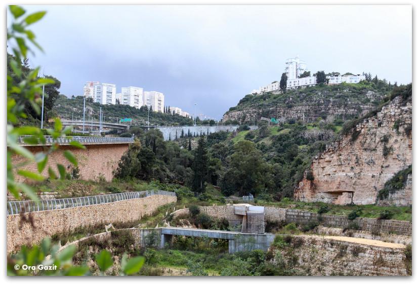 מפתח הנחל - נחל הגיבורים מסלול - ואדי רושמיה - טיול בחיפה