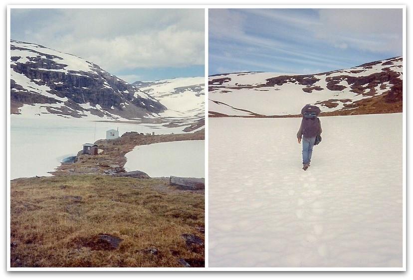 נופים מושלגים - טרק - שבדיה