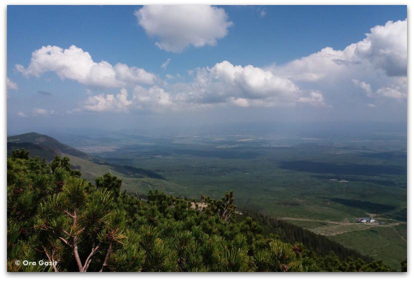 תצפית - הרי הטטרה  - טרק - סלובקיה