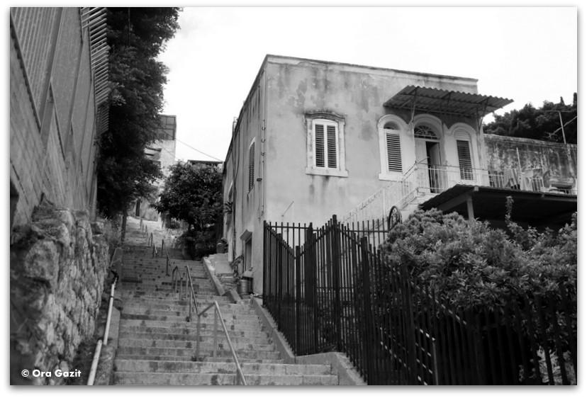 בית ערבי - מה לעשות בחיפה - מסלול 1000 המדרגות