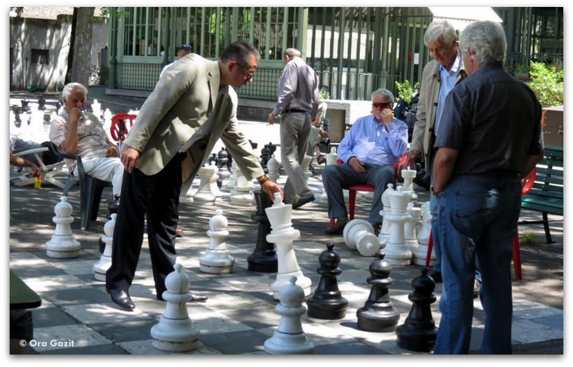 משחק שחמט רחוב - ז'נבה - אטרקציות בחינם