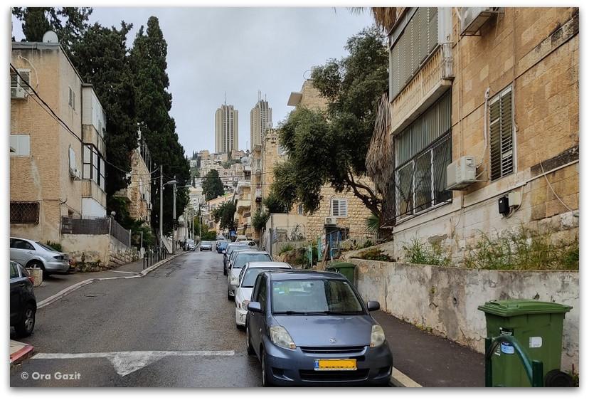 מגדלי פנורמה - רחובות בהדר - שמות רחובות בחיפה - טיול בחיפה