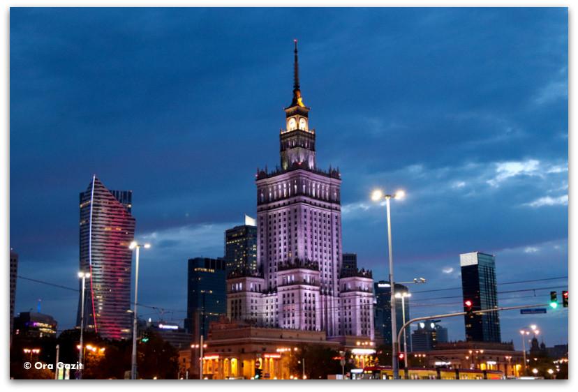 ארמון התרבות המדע - אטרקציות בורשה - טיול בורשה - מה לעשות בורשה