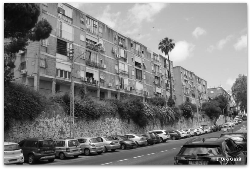בנייני רכבת - שכונת הדר - מה לעשות בחיפה - מסלול 1000 המדרגות