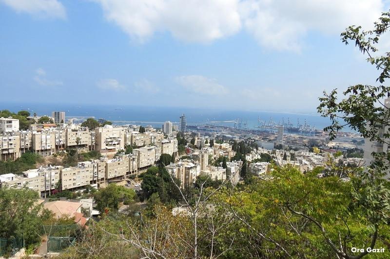 תצפית נוף - שביל חיפה - טרק - טיול בחיפה