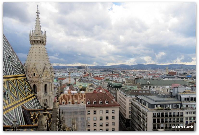 תצפית על העיר - וינה