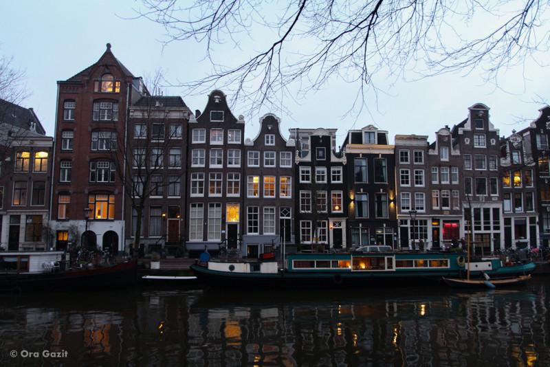 אמסטרדם בערב - אמסטרדם המלצות - אמסטרדם בחורף