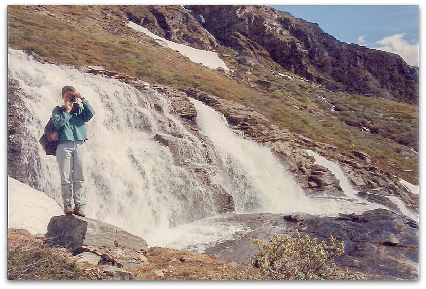 טיפוס לאורך המפלים - טרק - שבדיה