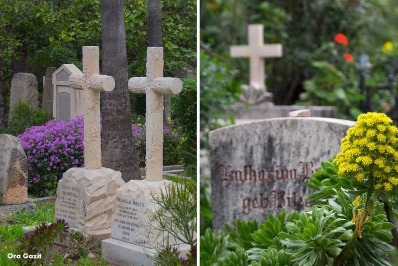 בית הקברות הטמפלרי - שביל חיפה - טרק - טיול בחיפה