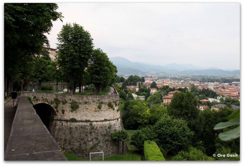 חומות העיר העתיקה - טיול בנות - ברגמו