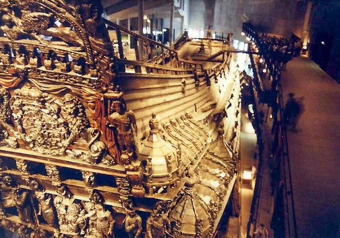 הספינה ואסה, שבדיה - יומן מסע - טיול אחרי צבא