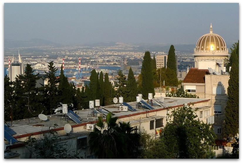 מסלולים בחיפה - טיול בחיפה - המקדש הבהאי - הליכות ג'יין חיפה