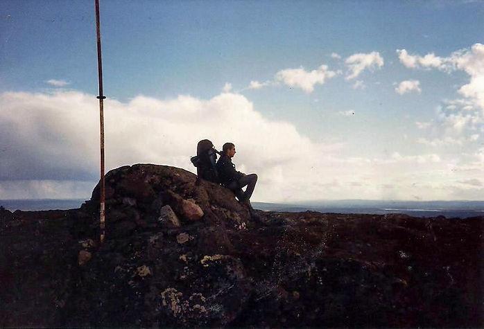 מטייל על הר, שבדיה - יומן מסע - טיול אחרי צבא