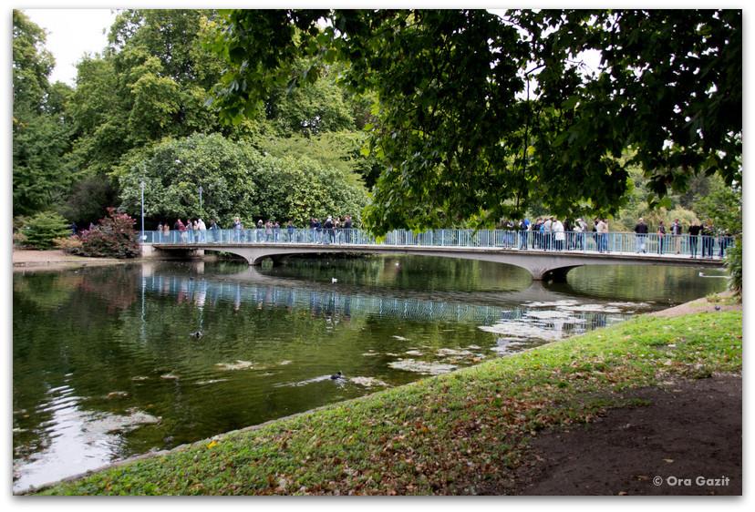 פארק סנט ג'יימס - פארקים בלונדון