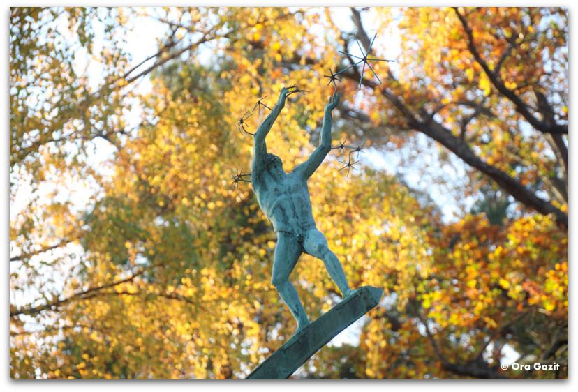 פסל של מילס - שלכת - שטוקהולם