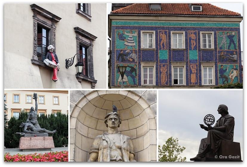 אמנות במרחב הציבורי ורשה - טיול בורשה - מה לעשות בורשה