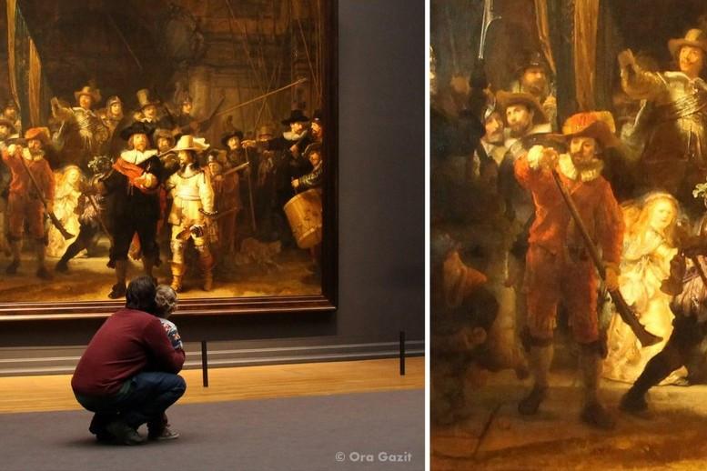 משמר הלילה - רייקסמוזיאום - מוזיאונים באמסטרדם - אמסטרדם המלצות - אמסטרדם בחורף