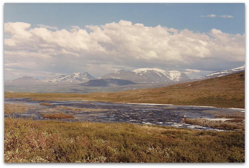 נופי הפארק - טרק - שבדיה