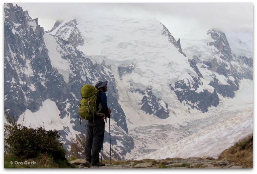 קרחונים - טרק - סובב מון בלאן - יומן מסע