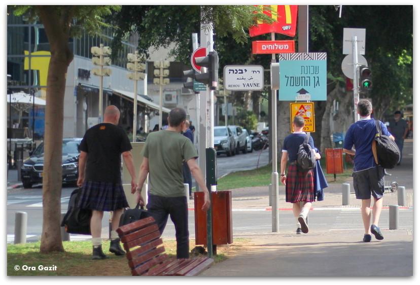 סקוטים - סיורים מודרכים בתל אביב - תל אביב