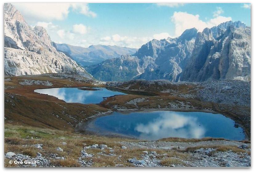 אגמים אלפיניים, דולומיטים, איטליה