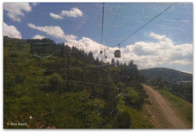רכבל - הרי רילה בולגריה - טרקים בבולגריה - יומן מסע