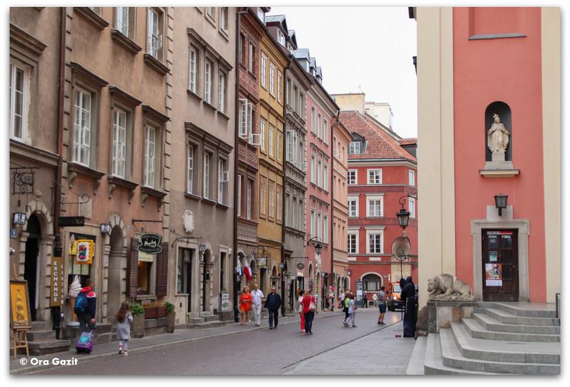 העיר העתיקה - טיול בורשה - מה לעשות בורשה
