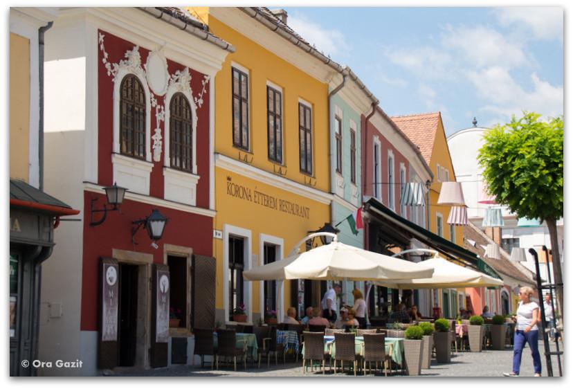 בתים צבעוניים - סנטאנדרה