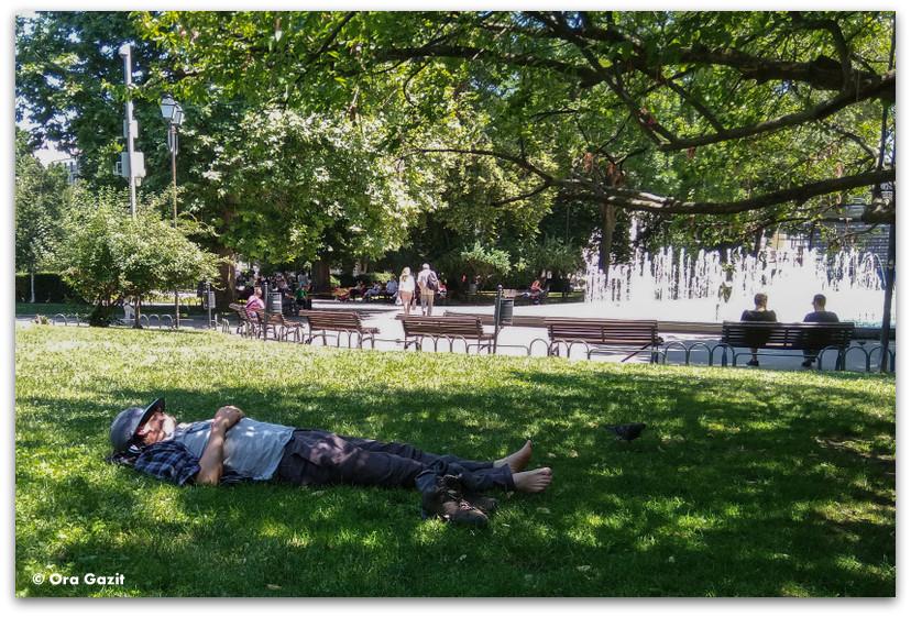 סופיה בולגריה - טיול עירוני - טבע עירוני - פארקים בסופיה