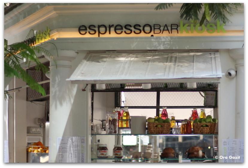 דוכן קפה - סיורים מודרכים בתל אביב - תל אביב