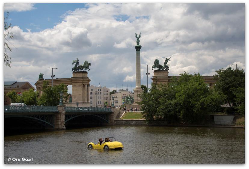 כיכר הגיבורים - אטרקציות בבודפשט - הונגריה