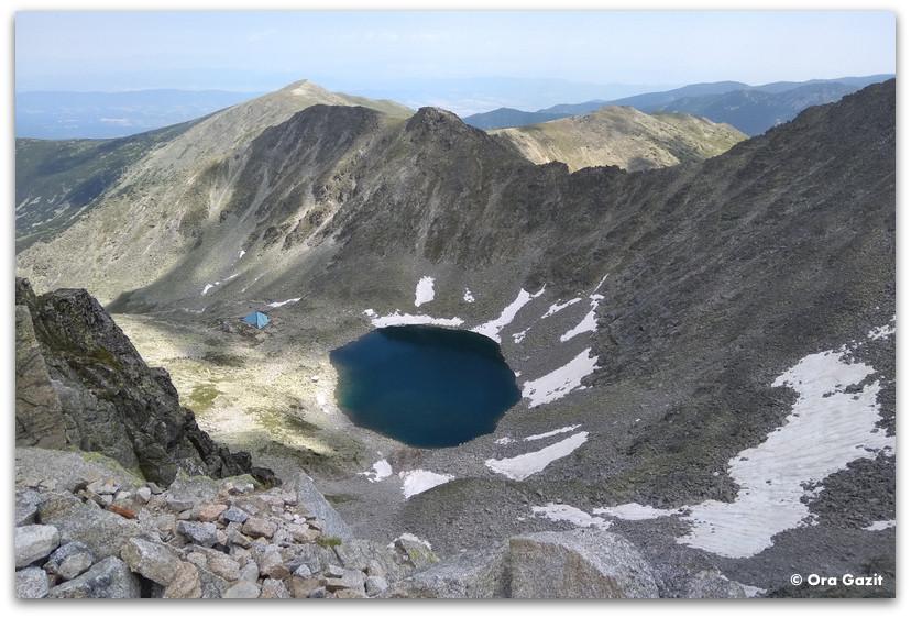 נוף אלפיני - הרי רילה בולגריה - טרקים בבולגריה - יומן מסע