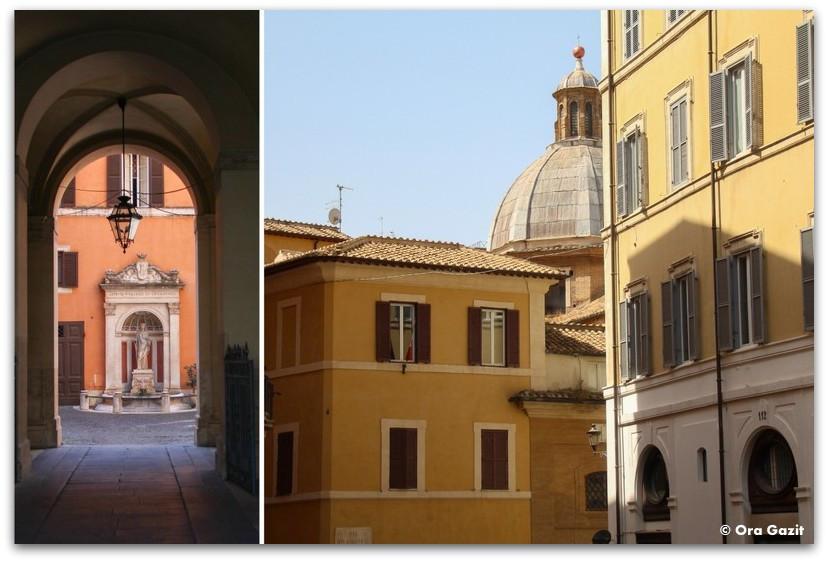 בתים עתיקים - רומא עם ילדים, איטליה