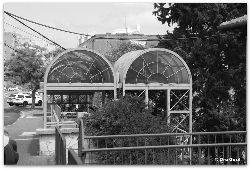 תחנת הכרמלית - מה לעשות בחיפה - מסלול 1000 המדרגות