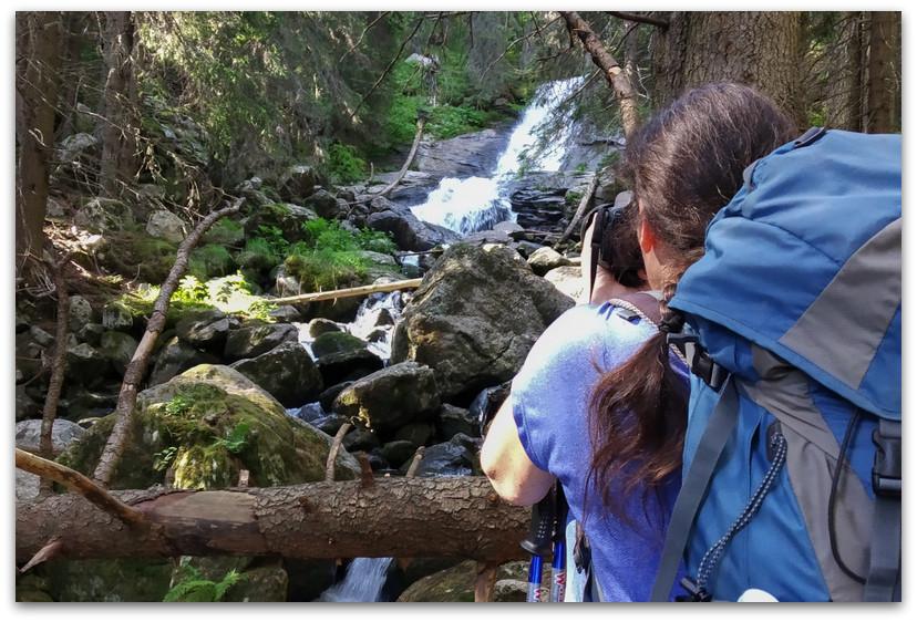 מפל - שבעת האגמים - טרק הרי רילה בולגריה - יומן מסע
