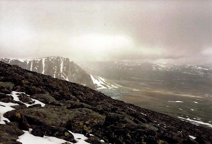 הרים מושלגים, נורבגיה - יומן מסע - טיול אחרי צבא